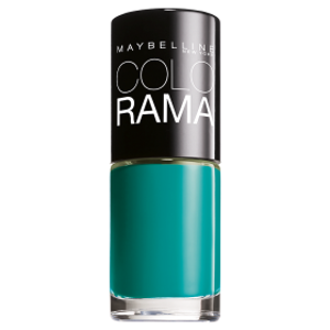 Maybelline Colorama New Nail Polish Lakier do paznokci 120 Urban Turquoise 7ml