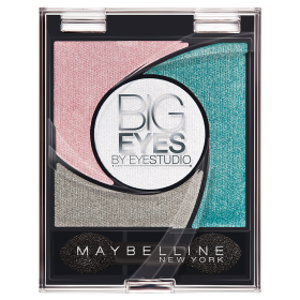Maybelline Eye Studio Big Eyes Eyeshadows Cień do oczu 3 Luminous Turqu