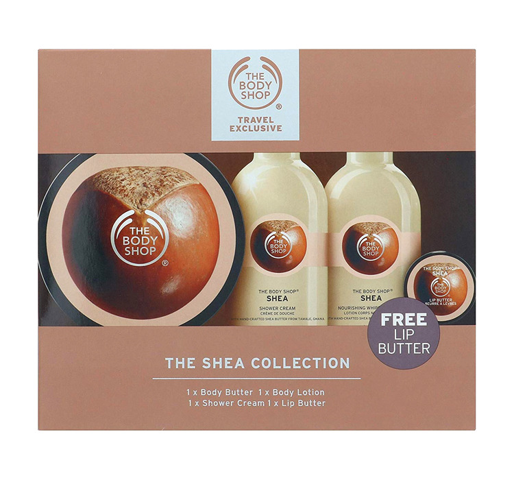 THE BODY SHOP TRAVEL EXCLUSIVE ZESTAW