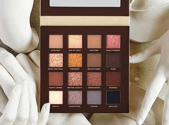 NABLA SIDE BY SIDE NUDE PALETTE PALETA CIENI DO POWIEK 12,2G