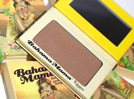 THE BALM PUDER BRĄZUJĄCY BAHAMA MAMA