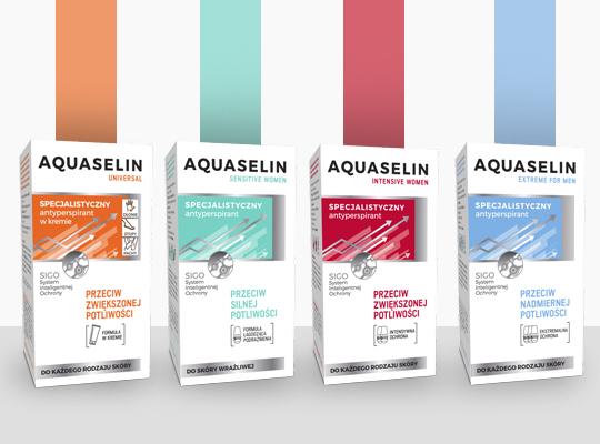 Aquaselin specjalistyczny antyperspirant