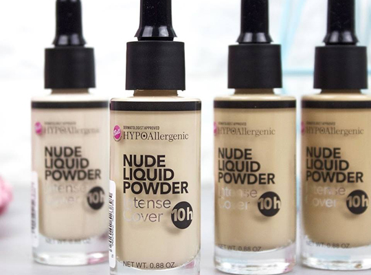 Bell Hypoallergenic Nude Liquid Powder Intense Cover podkład w płynie