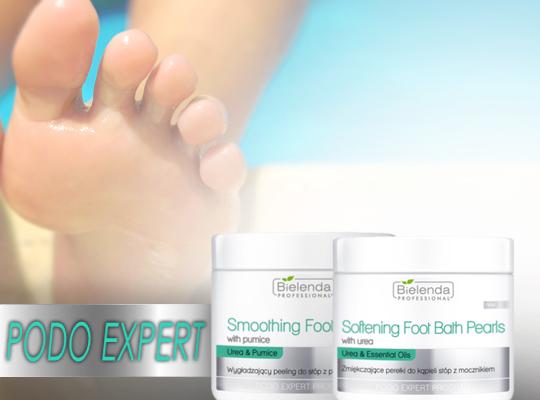 bielenda professional podo expert softening foot bath pearls zmiękczające perełki do kąpieli stóp