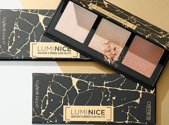 Catrice Luminice Highlight & Bronze Glow Palette