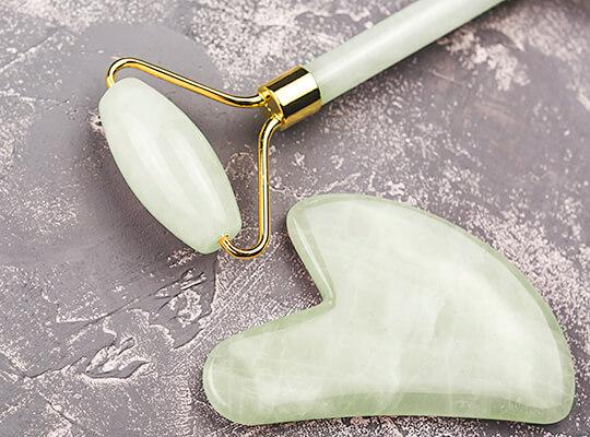 Clavier masażer jadeitowy