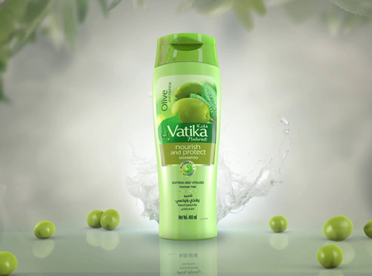 Dabur Vatika naturals nourishing shampoo virgin olive szampon do włosów oliwki