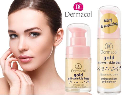dermacol gold anti wrinkle make up base maza pod makijaż przeciwzmarszczkowa odmładzająca