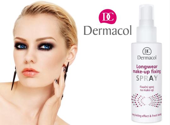 Dermacol longwear fixing spray make up fixer utrwalający makijaż