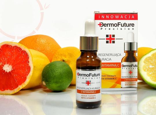 dermofuture regenerierende Behandlung mit Vitamin C.