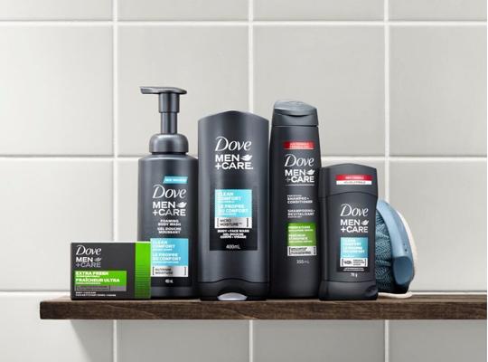 dove shower gel for men