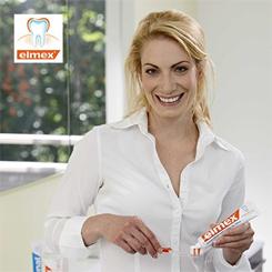 Elmex InterX Inter X szczoteczka do zębów przeciw próchnicy