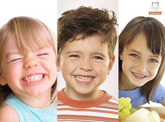 Elmex dla dzieci 3 6 szczoteczka do zębów przyssawka