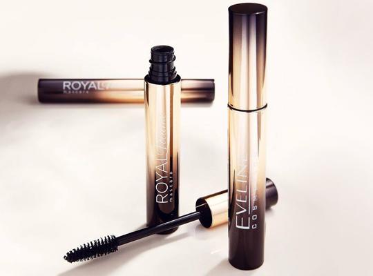 Eveline Cosmetics tusz do rzęs royal volume pogrubiający