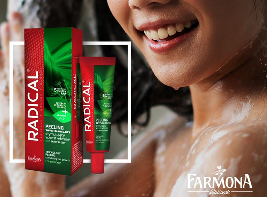Farmona Radical  peeling trychologiczny stymulujący wzrost włosów do skóry głowy