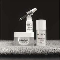 Filorga Laboratoires linia seria medi-cosmetique serum rozświetlające przeciwzmarszczkowe witamina c c-recover