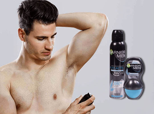 dezodorant dla mężczyzny Garnier Men Pure Active