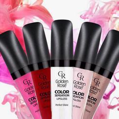 Lipgloss Golden Rose Color Sensation błyszczyk do ust