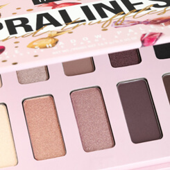 inglot pralines and truffles candy bar eyeshadow palette