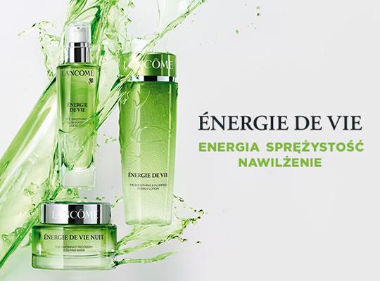 lancome paris energie de vie la creme d'eau krem do twarzy wygładzający ujędrniający