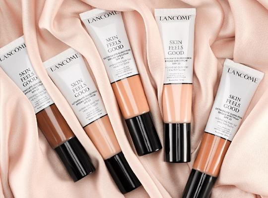 lancome paris skin feels good hydrating skin tint foundation podkład nawilżający