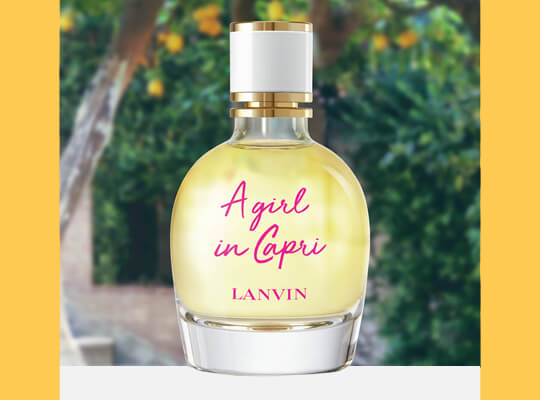 LANVIN A GIRL IN CAPRI WODA TOALETOWA SPRAY 30ML