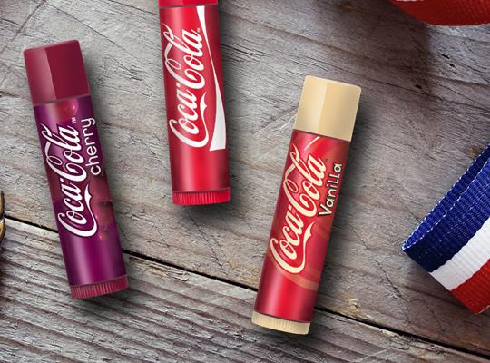 lip smacker coca cola coke vanilla balsam do ust sztyft stick