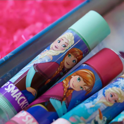 lip smacker lip balm balsam do ust disney princess frozen kraina lodu truskawka anna strawberry glow