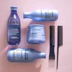 loreal l'oreal professionnel serieexpert serie expert blondifier cool shampoo szampon neutralizujący