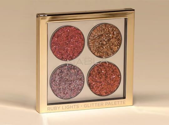 Ruby Lights Glitter Palette
