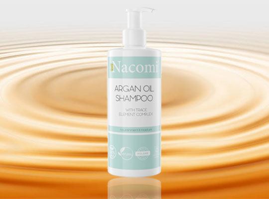 Nacomi Argan Oil Shampoo