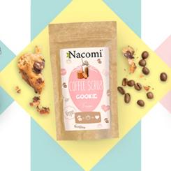 Nacomi cookie coffee scrub suchy peeling kawowy ciasteczkowy