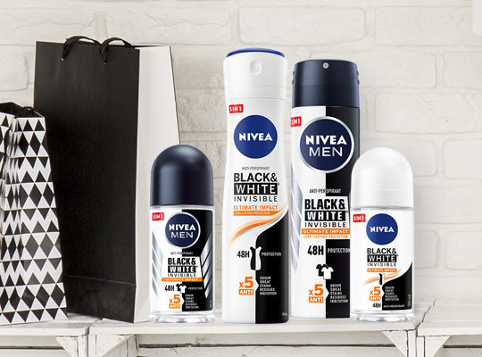 Nivea Black&White Invisible Ultimate Impact