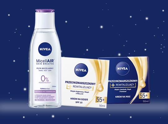 Nivea Xmas Box Premium Care 55+