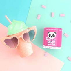 Noble Health Hair Care Panda zestaw plecak zelki suplement diety