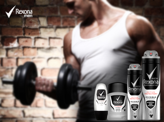 Rexona Men Active Protection + Original invisible antyperspirant