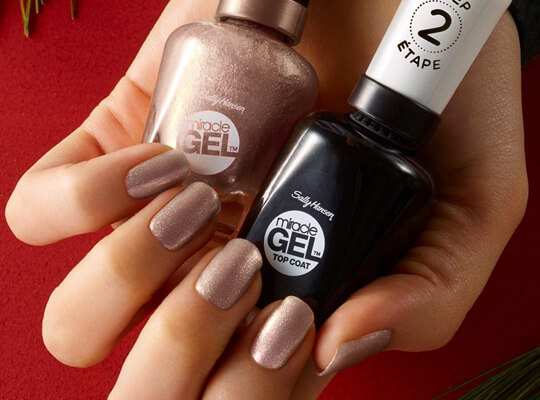 Sally Hansen Miracle Gel Duo Pack 023 Sleigh All Day