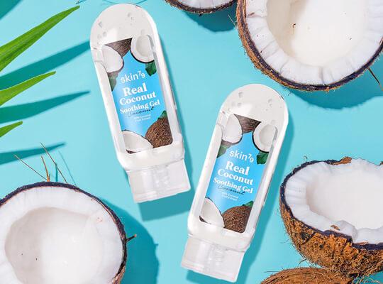 Skin79 Real Coconut Soothing Gel wielofunkcyjny żel kokosowy