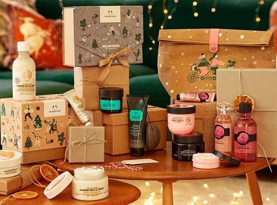 The Body Shop świąteczne prezenty