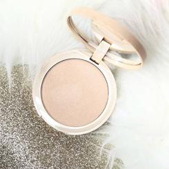 w7 glocomotion shimmer highlighter eyeshadow rozświetlacz złoty