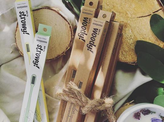 Woody Bamboo szczoteczka bambusowa