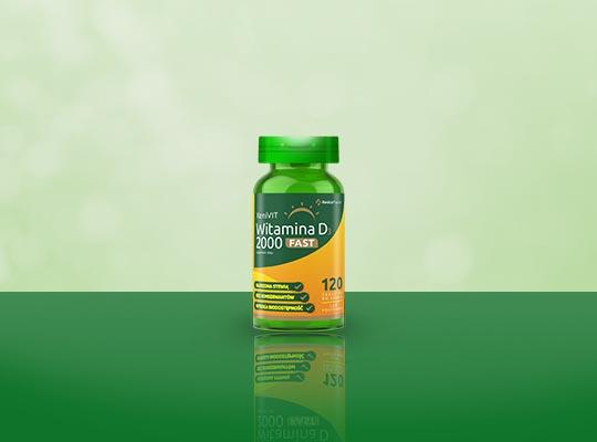 Xenico Pharma Witamina D3 2000 Fast
