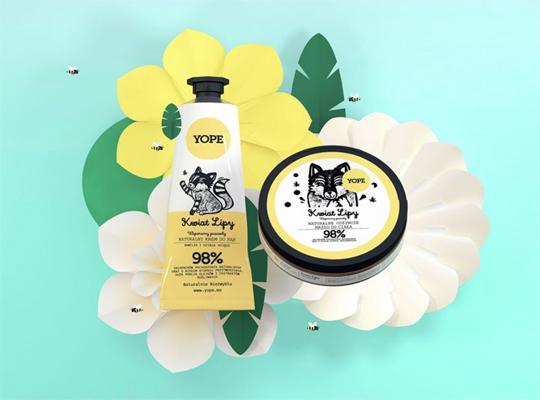 Yope beeYOPE kwiat lipy naturalny krem do rąk