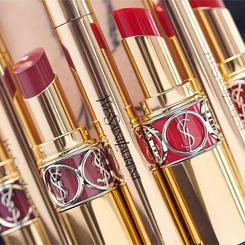 yves saint laurent rogue volupte shine lipstick oil-in-stick szminka pomadka do ust w sztyfcie