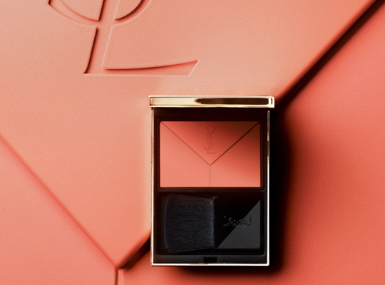 yves saint laurent beauty couture blush poudre fusionnelle róż do policzków