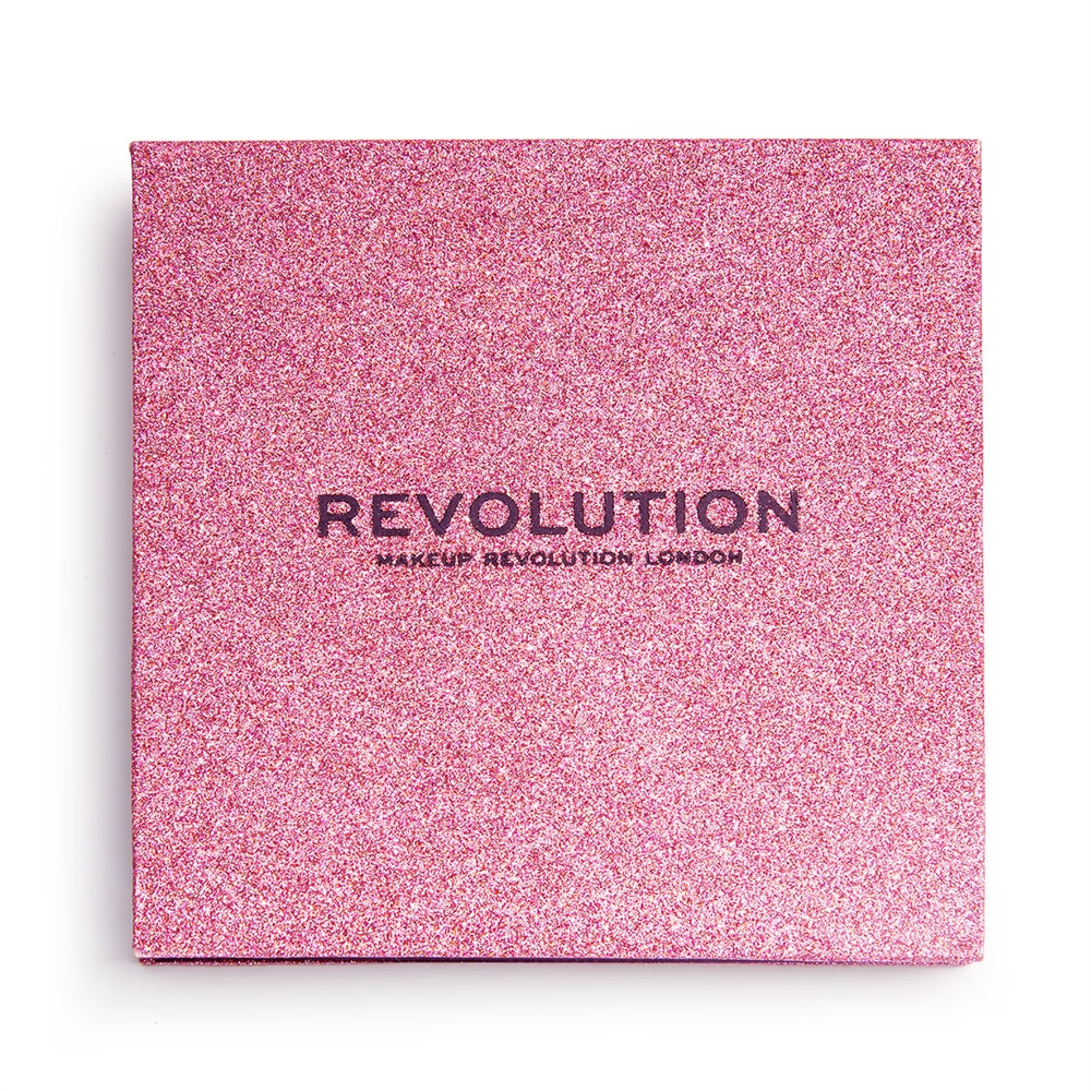 Makeup Revolution Pressed Glitter Palette Diva