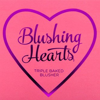 Makeup Revolution Blushing Hearts Candy Queen of Hearts